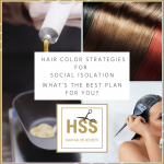 Strategies for your hair color during social isolation